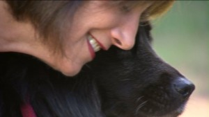 Lori Tritel was overjoyed to be reunited with her precious pooch Josie.
